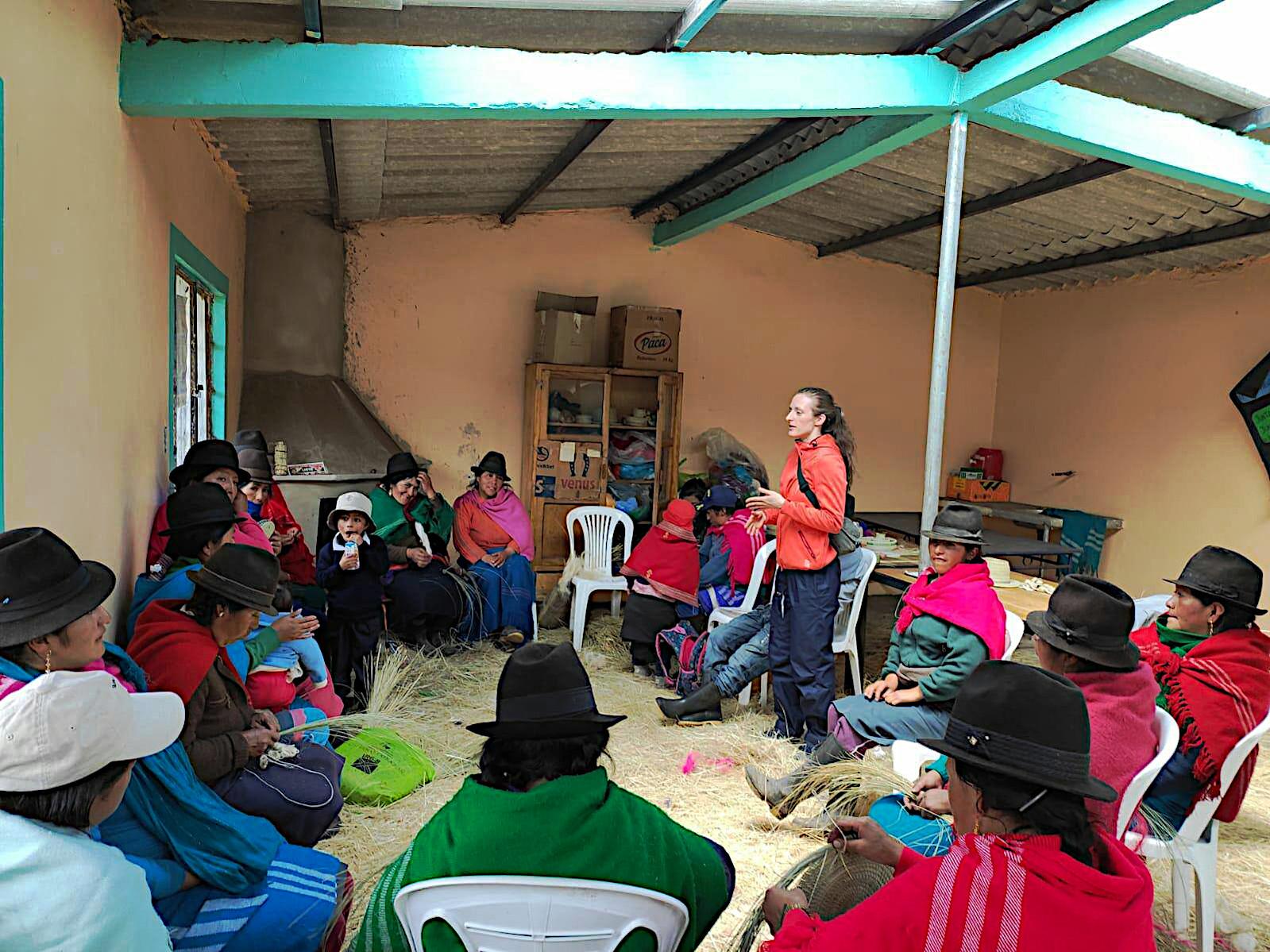 Dva týdny po příjezdu – první přednáška pro domorodce