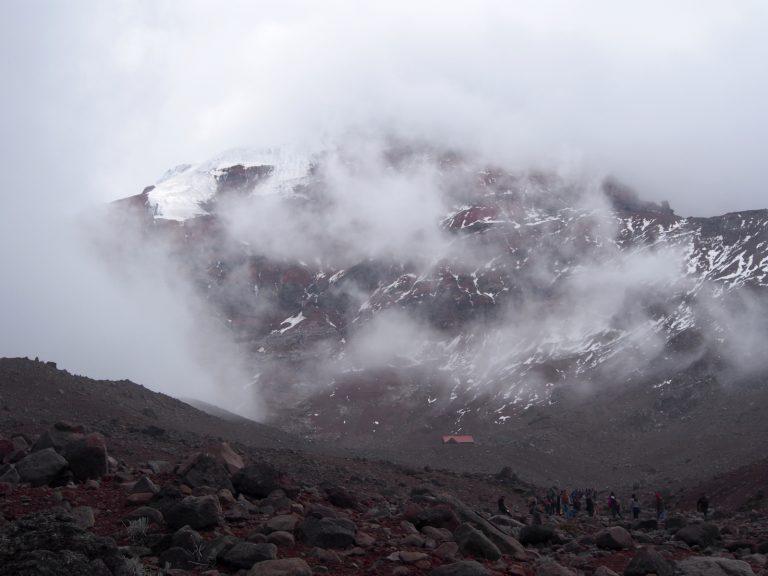 Jaký byl výstup do výšky 5100 m.n.m.