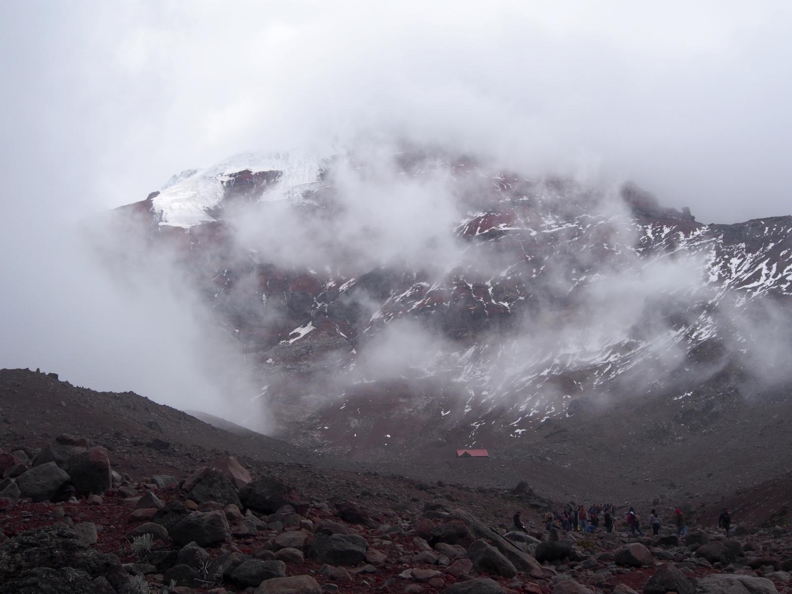 Jaký byl výstup do výšky 5100 m.n.m.??
